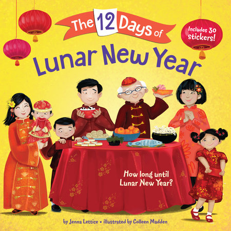The 12 Days of Lunar New Year by Jenna Lettice