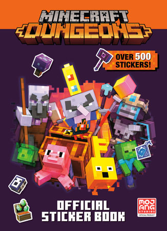 Minecraft Official Dungeons Sticker Book (Minecraft) by Random House