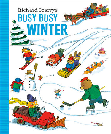 Richard Scarry's Busy Busy Winter by Richard Scarry