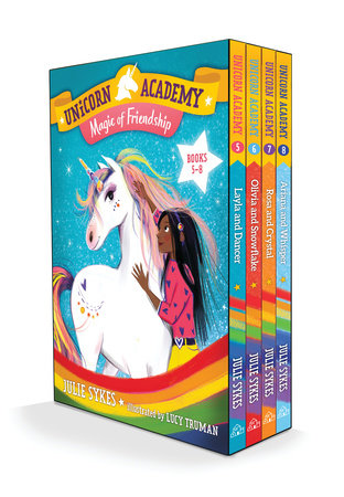 Unicorn Academy: Magic of Friendship Boxed Set (Books 5-8) by Julie Sykes