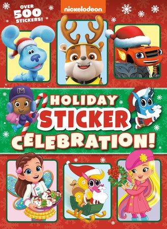 Holiday Sticker Celebration! (Nickelodeon) by Golden Books