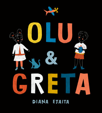 Olu and Greta by Diana Ejaita