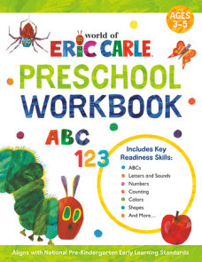 World of Eric Carle Preschool Workbook