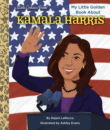 My Little Golden Book About Kamala Harris by Rajani LaRocca