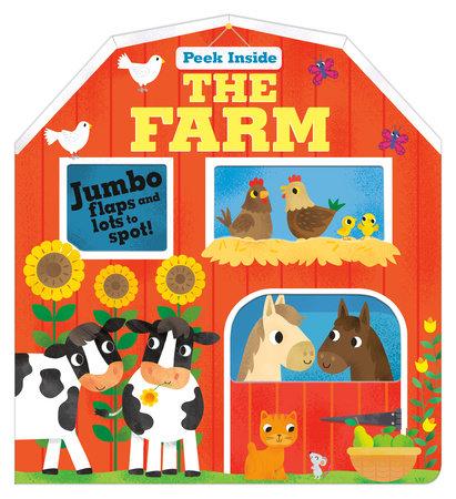 Peek Inside: The Farm by Becky Davies