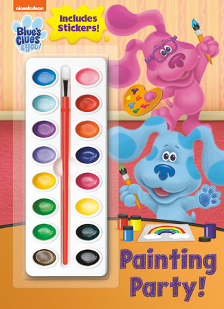 Painting Party! (Blue's Clues & You) by Golden Books