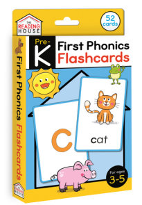 First Phonics Flashcards