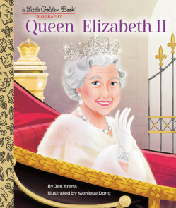 Queen Elizabeth II: A Little Golden Book Biography