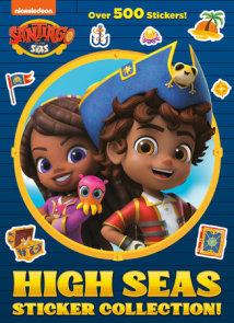 High Seas Sticker Collection! (Santiago of the Seas)