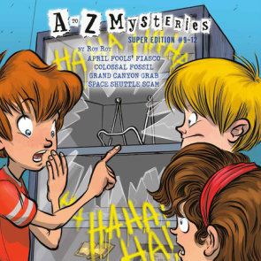 A to Z Mysteries Super Editions #9-12