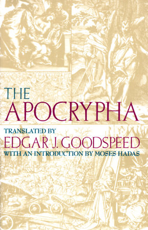 The Apocrypha by Edgar J. Goodspeed