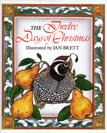 Twelve Days Of Christmas Book.The Twelve Days Of Christmas By Jan Brett 9780698115699 Penguinrandomhouse Com Books