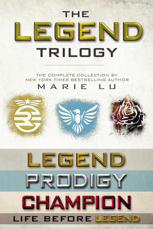 The Legend Trilogy Collection by Marie Lu
