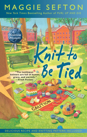 Knit to Be Tied by Maggie Sefton