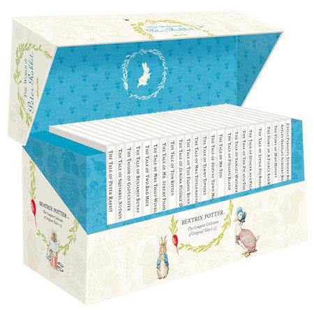 The Original Peter Rabbit Presentation Box 1-23 R/I by Beatrix Potter