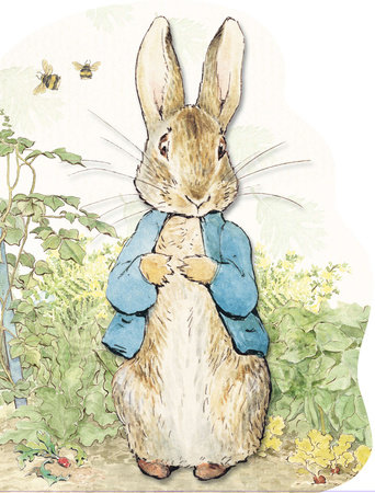 Peter Rabbit Large Shaped Board Book by Beatrix Potter