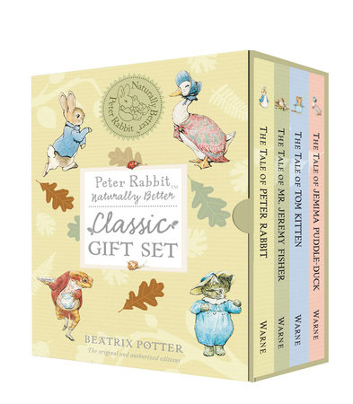 Peter Rabbit Naturally Better Classic Gift Set by Beatrix Potter