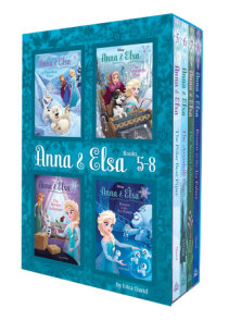 Anna & Elsa: Books 5-8 (Disney Frozen)