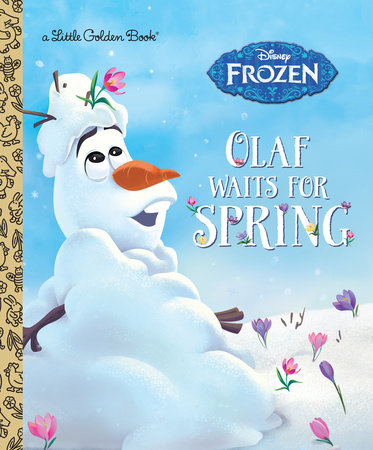 Olaf Waits for Spring (Disney Frozen) by Victoria Saxon