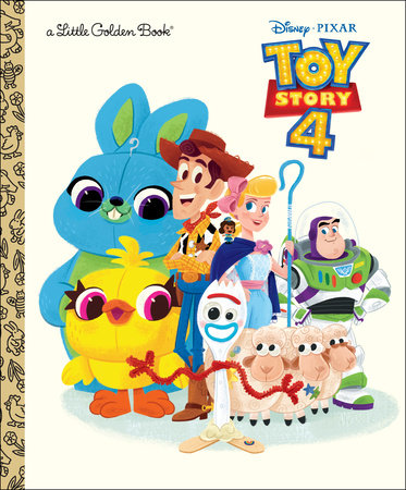 Toy Story 4 Little Golden Book (Disney/Pixar Toy Story 4) by Josh Crute