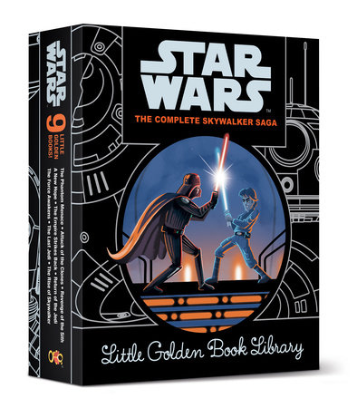The Complete Skywalker Saga: Little Golden Book Library (Star Wars) by Various