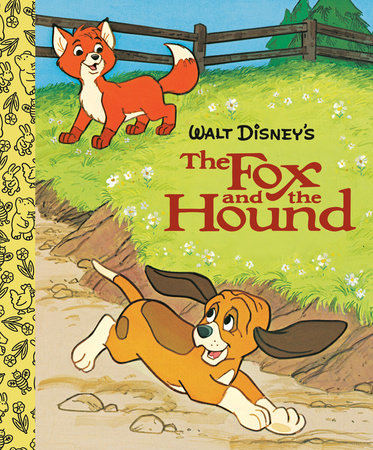 The Fox and the Hound Little Golden Board Book (Disney Classic) by Golden Books
