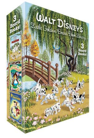 Walt Disney's Little Golden Board Book Library (Disney Classic) by Various