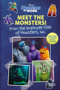 Meet the Monsters! (Disney Monsters at Work)