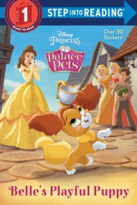 Belle's Playful Puppy (Disney Princess: Palace Pets)