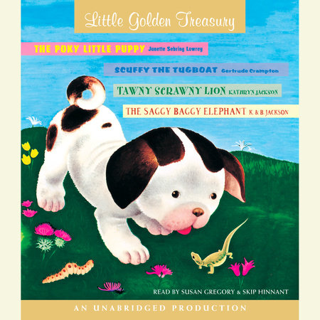 Little Golden Treasury by Gertrude Crampton, Janette Sebring Lowrey and Kathryn Jackson
