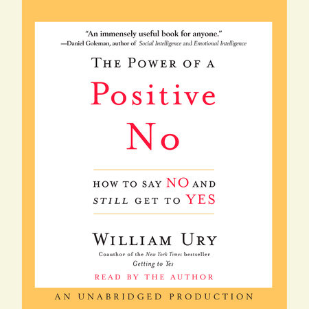 The Power Of A Positive No PDF Free Download