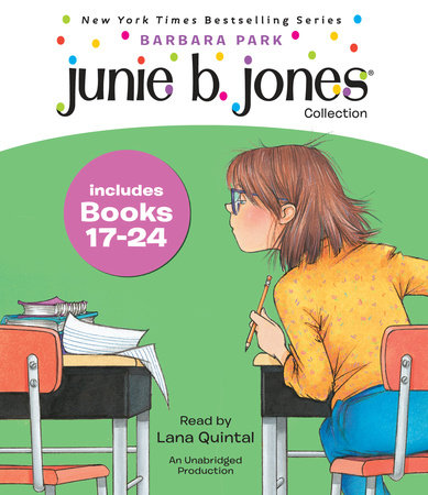 Junie B. Jones Collection Books 17-24 by Barbara Park