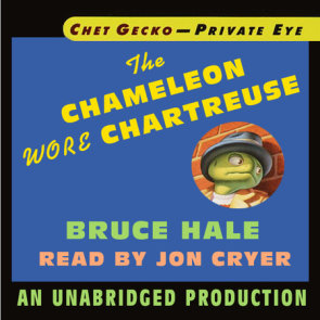 Chet Gecko, Private Eye, Book 1: The Chameleon Wore Chartreuse