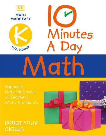 10 Minutes a Day Math Kindergarten by Carol Vorderman
