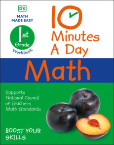 10 Minutes a Day Math, 1st Grade