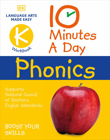 10 Minutes A Day Phonics Kindergarten by Carol Vorderman