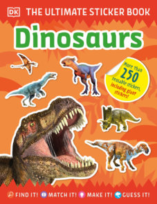 The Ultimate Sticker Book Dinosaurs