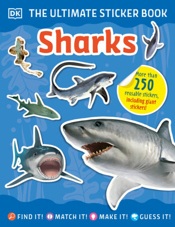 The Ultimate Sticker Book Sharks by DK