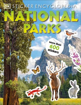 Sticker Encyclopedia National Parks by DK