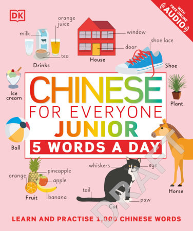 Chinese for Everyone Junior 5 Words a Day by DK