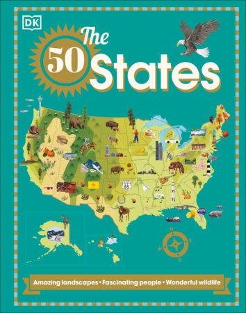 The 50 States by DK
