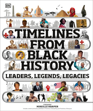 Timelines from Black History by DK