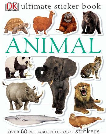 Ultimate Sticker Book: Animal by DK