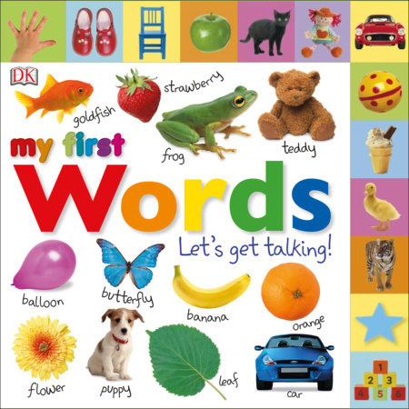 Tabbed Board Books: My First Words by DK