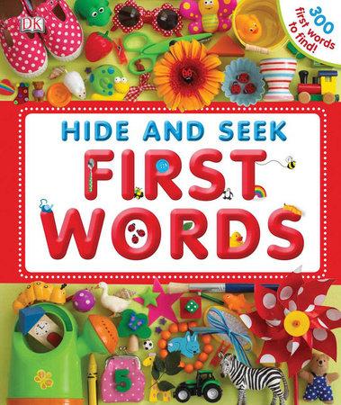 Hide and Seek First Words by DK