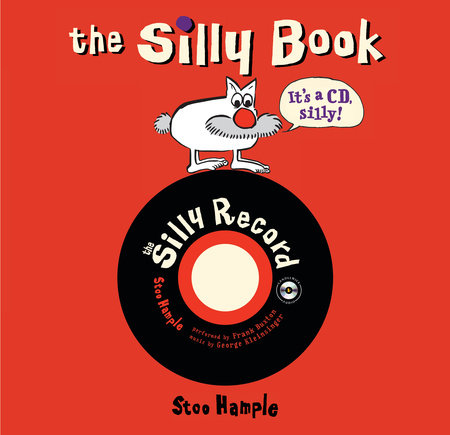 The Silly Book with CD by Stoo Hample