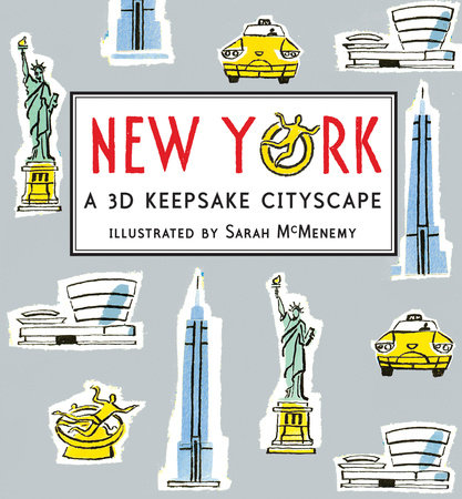 New York: Panorama Pops by Sarah McMenemy