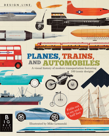 Design Line: Planes, Trains, and Automobiles by Chris Oxlade