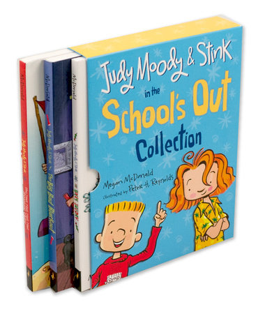 Judy Moody and Stink in the School's Out Collection by Megan McDonald
