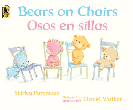 Bears on Chairs/Osos en sillas by Shirley Parenteau